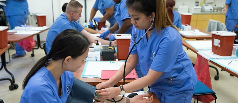 get the skills to become a professional medical assistant
