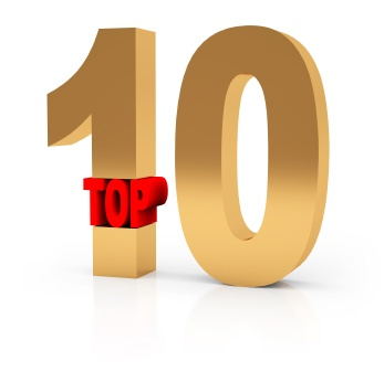 Graphic that says Top 10