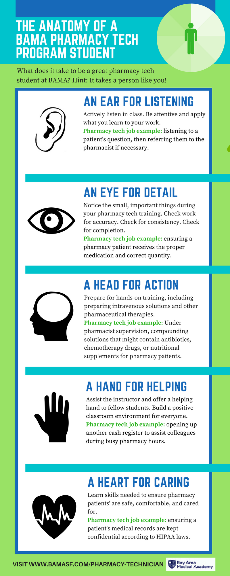 Infographic The Anatomy Of A Bama Pharmacy Tech Program Student